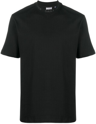 Daily Paper mock-neck boxy T-shirt