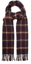 A.P.C. Checked wool scarf