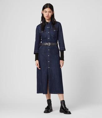 AllSaints Polly Denim Dress