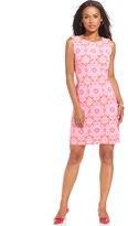 Charter Club Dress, Sleeveless Floral-Print Sheath