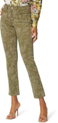 NYDJ Sheri High Waist Stretch Slim Ankle Jeans