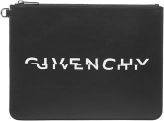 Givenchy Split Logo Clutch