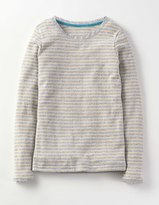 Boden Sparkle Pointelle T-shirt