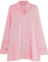 Paul & Joe Pinstriped Poplin Shirt - Fuchsia