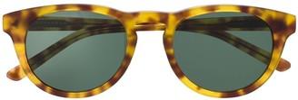 Han Kjobenhavn Raven round-frame sunglasses