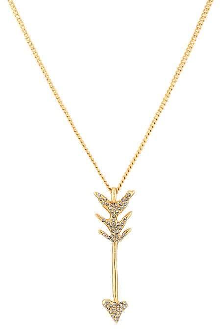 Givenchy Women's Arrow Pendant Necklace