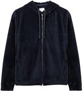 Derek Rose Nico Navy Velour Sweatshirt