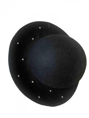 Julien David Black Wool Hats