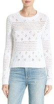 Rebecca Taylor Women's Pointelle Pullover