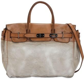 Numero 10 Richmond Cotton & Leather Bag