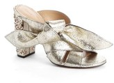 Chloé Women's Nellie Embellished Topknot Sandal