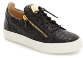Giuseppe Zanotti Men's Embossed Low Top Sneaker