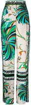 Emilio Pucci floral print straight trousers