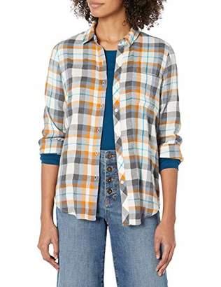 Lucky Brand Women's Classic One Pocket Plaid Shirt