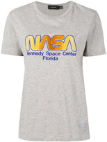 Coach NASA embroidered T-shirt - women - Cotton - S