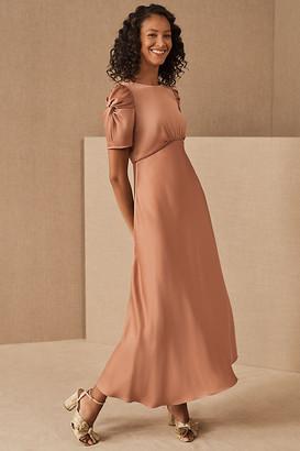 BHLDN Leyden Dress By in Orange Size 0