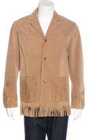 Paul Smith Suede Fringe Jacket