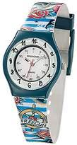 Freegun ee5191 – Boys 'Watch – Analogue Quartz – White Dial – Bracelet Multicolor Plastic