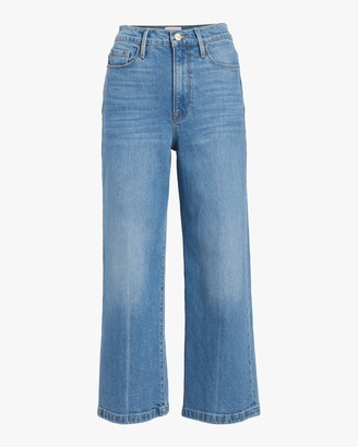 Frame Ali Wide Cropped Jeans