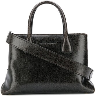Miu Miu top handles leather handbag