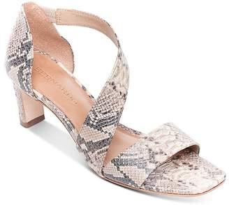 Bernardo Women's Asymmetric Block Heel Sandals