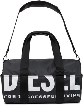 Diesel Black F-Bold Duffle Bag