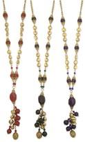 Z Designs Glass Charm Necklace