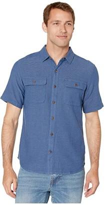Royal Robbins Cool Mesh Eco Short Sleeve Shirt (Twilight Blue XD) Men's Short Sleeve Button Up
