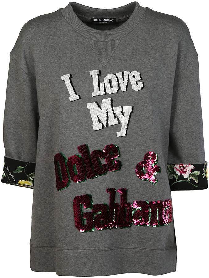 Dolce & Gabbana Dolce Gabbana Embroidered Sweatshirt