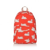 Stella McCartney KidsRed Swans Print Backpack