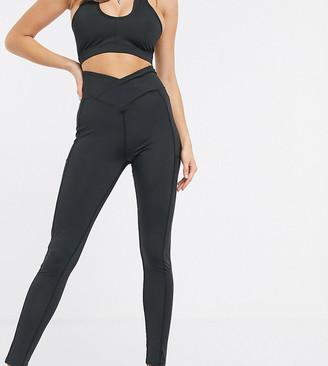 South Beach high waisted leggings in black