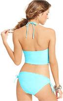 California Waves Swimsuit, Halter V-Neck Tankini Top