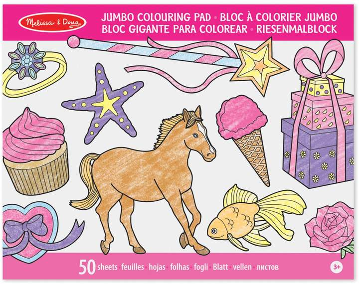 Melissa & Doug Jumbo Colouring Pad