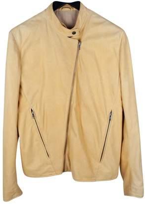Maison Margiela \N Yellow Leather Jackets