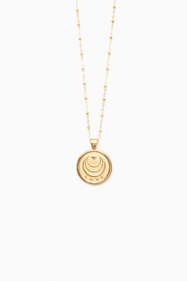 Jane Winchester Gold Love Small Pendant