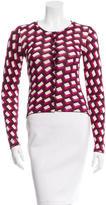 Diane von Furstenberg Silk Ibiza Cardigan