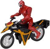 Very Power Rangers Ninja Steel Mega Morph Cycle with Red Ranger