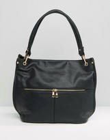 Oasis Suede Slouch Bag