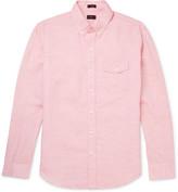 J.crew - Button-down Collar Linen And Cotton-blend Shirt