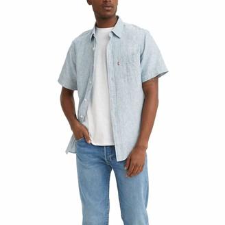 Levi's Men's Classic 1 Pocket Shorts Sleeve T-Shirt
