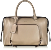 DKNY Greenwich Natural Leather Large Satchel Bag