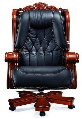 Astoria Grand Timko Genuine Leather Executive Chair