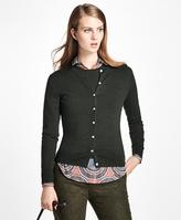 Brooks Brothers Long-Sleeve Saxxon Wool Cardigan
