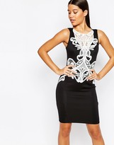 Lipsy Michelle Keegan Loves Lace Applique Pencil Dress