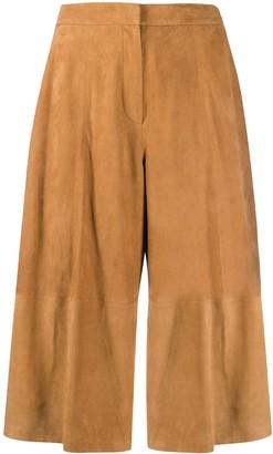 Desa 1972 Suede Wide-Leg Trousers