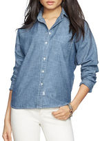 Lauren Ralph Lauren Relaxed Chambray Button-Down Shirt