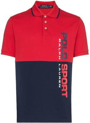 Polo Ralph Lauren Two Tone Logo Polo Shirt