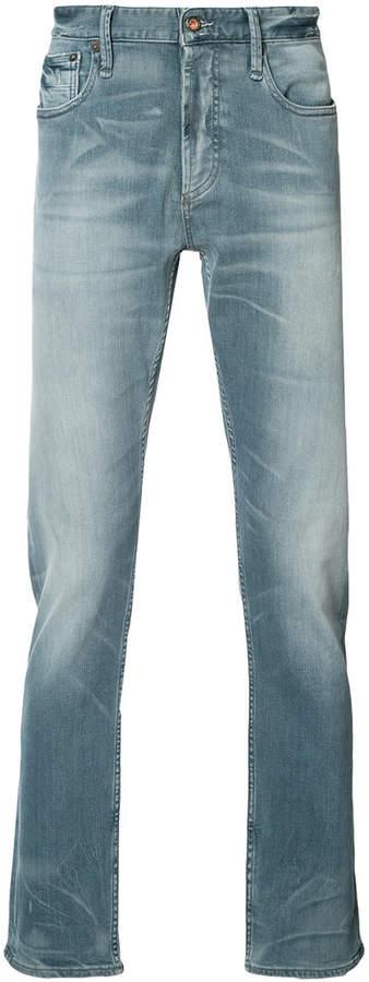 Denham Jeans faded effect jeans
