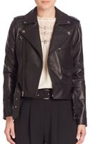 Parker Cooper Leather Moto Jacket