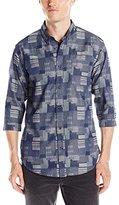 Publish BRAND INC. Men's Stanton 3/4-Sleeve Button Down Shirt
